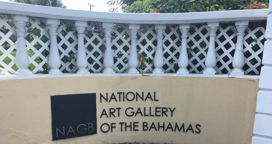 national art gallery of The Bahamas sign