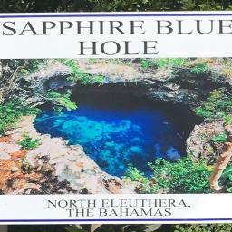 Sapphire Blue Hole, Eleuthera