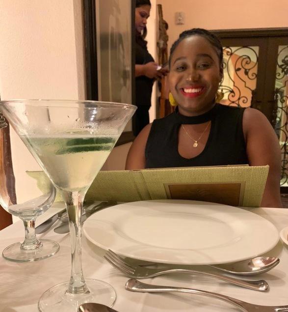 table setting at Sapodilla Restaurant